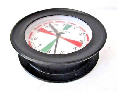 LARGE - SHIP'S CLOCK – Marine RADIO ROOM Clock –  BOAT / NAUTICAL (5008A)
