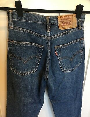VINTAGE WOMENS LEVI'S STRAUSS 501 JEANS size 28