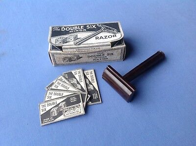 SOUPLEX 'DOUBLE SIX MINOR' DE bakelite safety razor