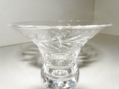 Cut Glass Crystal Vintage Small Chocolate Bowl or Vase