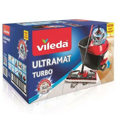 Vileda UltraMat Turbo Easy Wring Komplett Set NEU