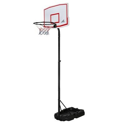 Woodworm Outdoor Adjustable 165-210cm Portable Basketball Hoop Net System