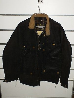 barbour international jacket  jacke waxed cotton c38-97 s