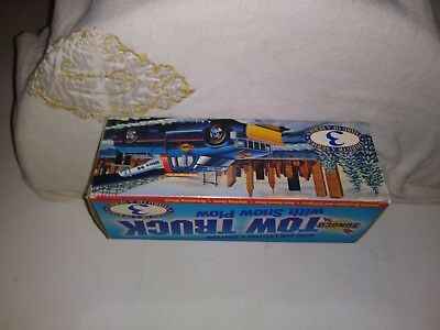 1996 Sunoco Collector's Edition Tow Truck with Snow Plow #3 of a Series NRFB