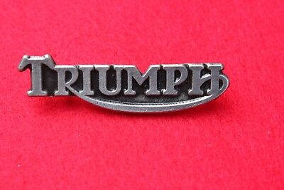 Pin's moto Triumph ( Fixation pin's )