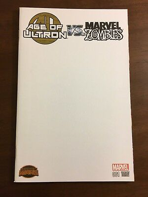 Comic Book - Marvel Comics - Age of Ultron Vs Marvel Zombies #1 Blank Variant