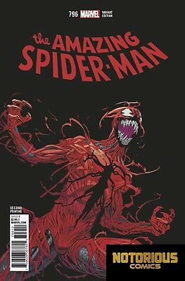 Amazing Spider-Man #796 2nd Print Variant Marvel Comics 03/21