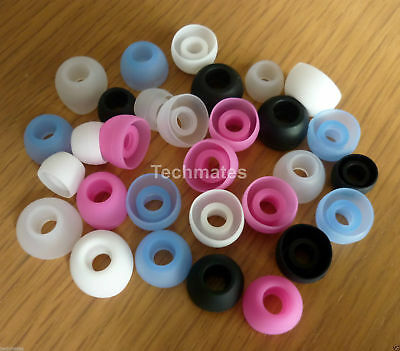 Replacement In Ear Headphone Earphones Buds Earbuds Tips Gels Silicone