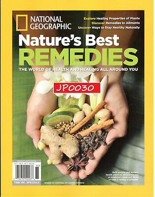 National Geographic 2018, Nature's Best Remedies, Brand New/Sealed, REISSUE