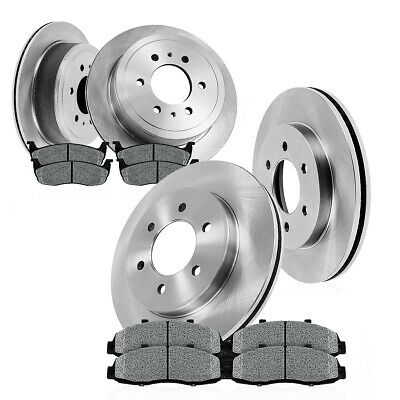 Front Rear OE Rotors Metallic Pads 2002 2003 2004 2005 2006 EXPEDITION NAVIGATOR