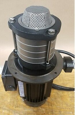 *never Used!* Fuji Okuma Coolant Pump W/ 3 Phase Induction Motor Vka343Ah
