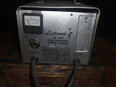 Lestronic Ii 24 Volt Fully Automatic Battery Charger