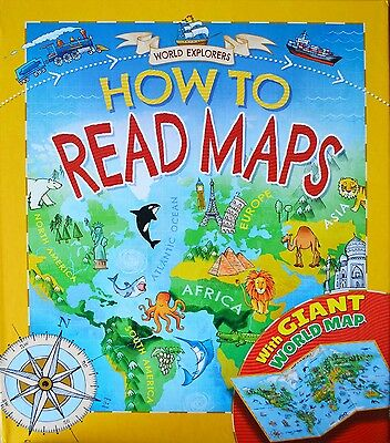 World Explorers - How to Read Maps [Hardback]