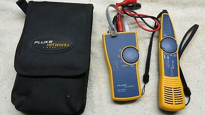 Fluke Networks IntelliTone Pro 200 Toner and Probe Kit in Excellent condition.