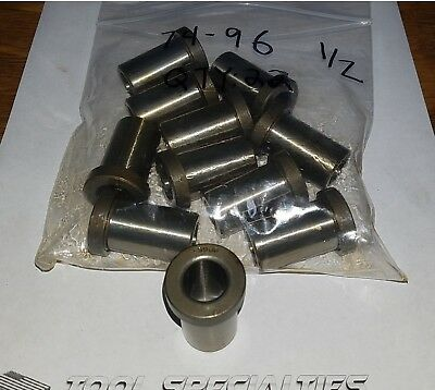 .5960ID .8125OD  NEW OldStock- CL 2 (TWO) MACHINIST DRILL GUIDE JIG BUSHING