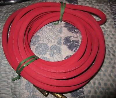 PARKER 3/16 x 25' Red Acetylene Welding Single Grade R Hose Made in USA