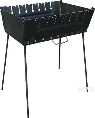 PORTABLE BARBEQUE GRILL Mangal BBQ Kabab Shashlyk Outdoor