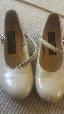 Energetiks Genuine Leather Tap Shoes, Size 12.5