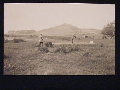 ROUTENBURN GOLF CLUB LARGS OPENING EXHIBITION GAME 13th JUNE 1914 RP POSTCARD 6