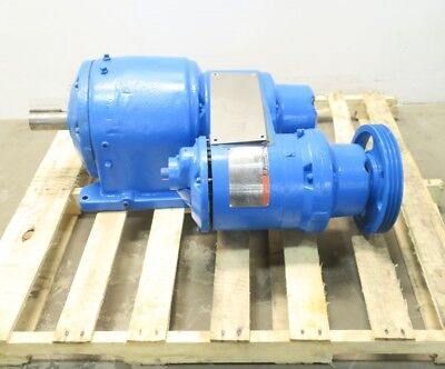Reliance Reeves 30201866-Ya Size 233 Variable Speed Gearmotor 106:1 2Hp D599251