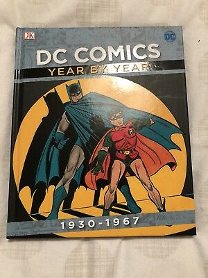 New DC Comics Year By Year 1930-1967 (Hardback) Batman /Superman / Wonder Woman