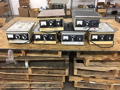 Lot of 6 Labline Orbital Shaker 3520- Tested to Power ONLY
