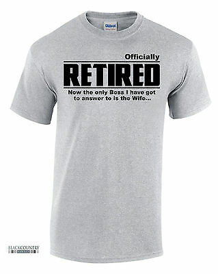 T268 Officially Retired! FUNNY PRINTED MENS SLOGAN TSHIRT NOVELTY GIFT