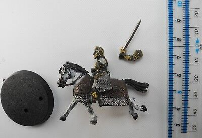 MOUNTED THEODEN Metal Lord of the Rings LOTR Good Rohan Army Warhammer 9