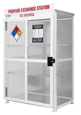 18 Cylinder Steel Propane Cage for 20lb Exchange