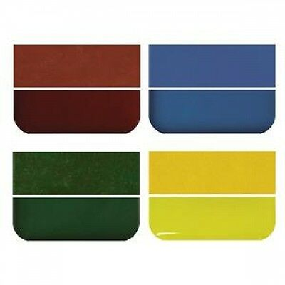 Fuseworks Kiln Fusing Glass 90 Coe Opal Opalescent Variety Pack 4 Colors