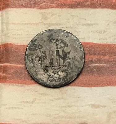 1851-1853 Type 1 3C Three Cent Silver Piece Vintage US Coin #DV17