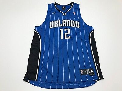 outlet store 19ae3 a53e0 ADIDAS NBA ORLANDO Magic Dwight Howard #12 Jersey Sewn On Letters Mens Xl  Euc