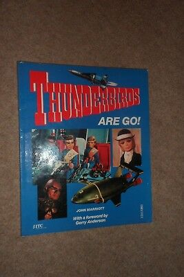 Thunderbirds Are Go - 1992 Paperback Story Book based on TV Series.
