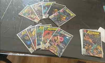 Lot of 27 Aquaman Comics M/NM Condition from 1992 to 2000