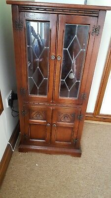 Old Charm Hi Fi cabinet with Record Storage