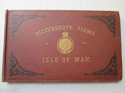 Picturesque Views In The Isle Of Man Rare Antique Book 1883?