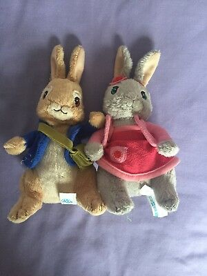 Peter Rabbit And Lily Soft Toys