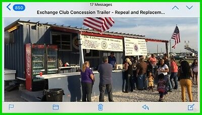 2017 Food trailer Ready to use Used