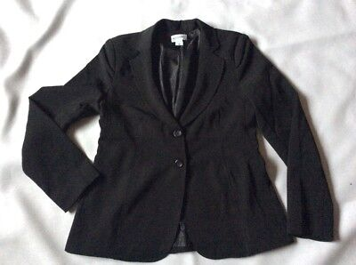 Womans MOTHERHOOD MATERNITY size M Black Jacket Blazer EUC Career Teacher