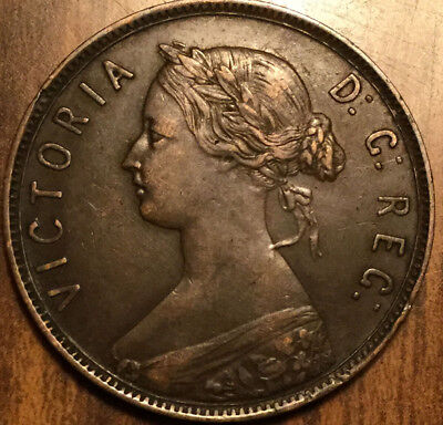 1896 Nfld Newfoundland Large 1 Cent A Superb Example !
