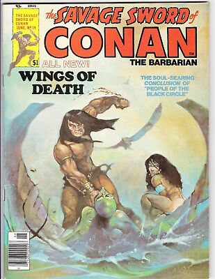 # 19  The Savage Sword Of Conan The Barbarian Magazine  1977