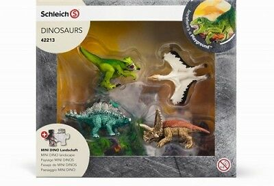 Schleich Dinosaurs Play Set 42213 - Mini Dinosaurs & Puzzle Pack