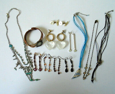 Mixed Lot of Costume Jewellery, Watch, Necklaces, Rings and Bracelets Vintage