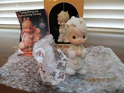"""Precious Moments """"MAY YOUR CHRISTMAS BE DELIGHTFUL"""" 1985 ~ #15849 Enesco"""