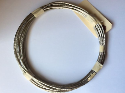 40' Aircraft Grounding Cable Bonding Strap Braided Tinned Copper Wire Aviation