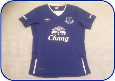 Everton 2015-16 Home Shirt S (FFS000641)