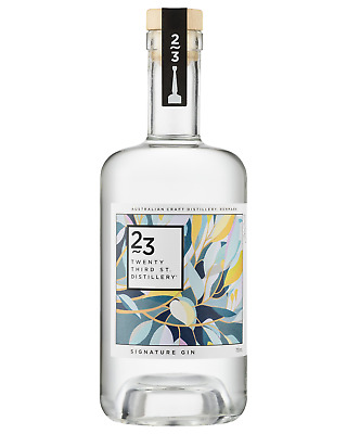 23rd Street Distillery Signature Gin 700mL case of 6