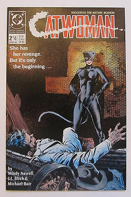 CATWOMAN VOLUME 1 #2 VF+ 8.5, and #4 VF/NM 9.0 DC 1989