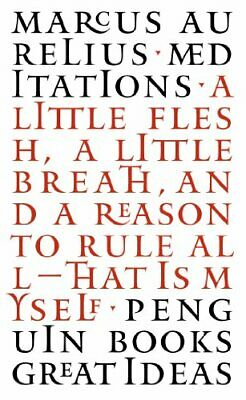 Penguin Great Ideas : Meditations by Aurelius, Marcus Paperback Book The Cheap