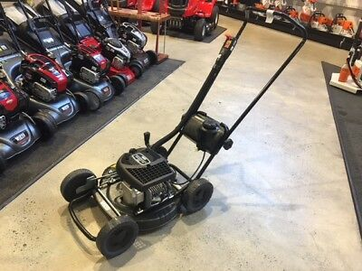 "Victa Push Mower Utility Mustercut  460mm (18"") Deck Two stoke RRP $699 when new"